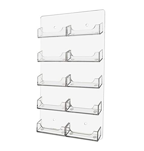 Marketing Holders Wall Business Card Holder Vertical Wall Mount