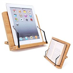 Desktop Book Stands Cookbook Holder Books Rest Reading Stands Tablet