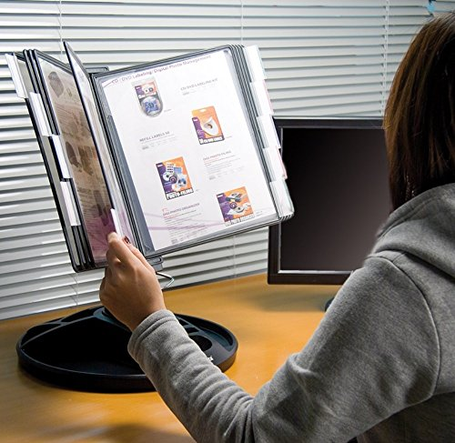Aidata Executive Desktop Organizer, Black