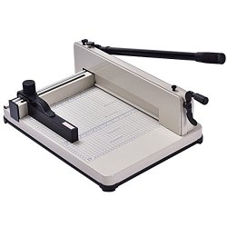 Giantex 12'' Guillotine Paper Cutter, Heavy Duty A4 Trimmer Machine