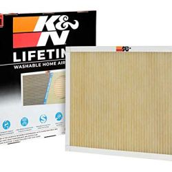 K&N Home Reusable Air AC Furnace Filter, 20x20x1