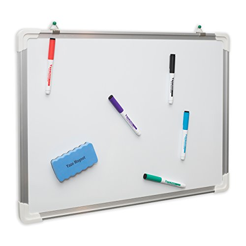Dry Erase White Board: Hanging Writing, Drawing & Planning Large Whiteboard