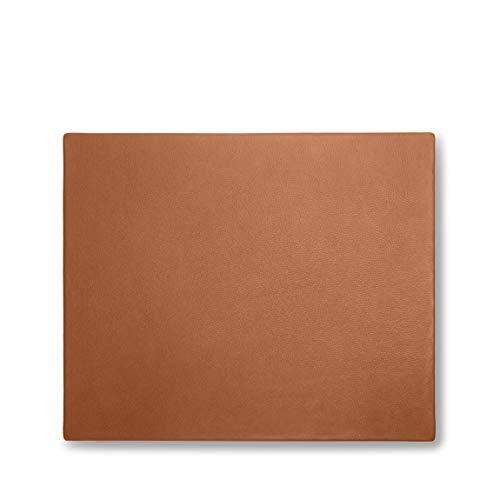 Leatherology Laptop Desk Pad - Full Grain Leather - Cognac (Brown)