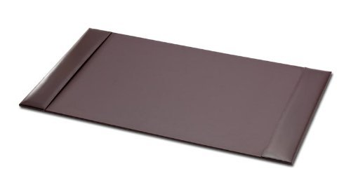 Dacasso Brown Econo-Line Leather Desk Pad, 30 by 18 Inch