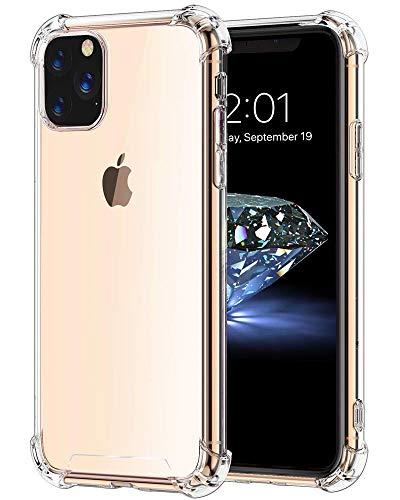 Bangbreak iPhone 11 Pro Max Case iPhone 2019 6.5 inch Soft TPU Shock Absorption. iPhone 11 Pro Max Case. Anti-Scratch. Cover Case Crystal Super Clear 2019