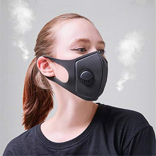 Ooscy Mask Protection,PM2.5 Masks - Carbon Activated Face Mask, Windproof Motorcycle Face Masks - Washable Respirator Breathing Mask for Pollution