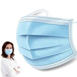 50 Pcs Disposable Earloop Face Masks Breathability Comfort-Great for People Preventing Air Pollution