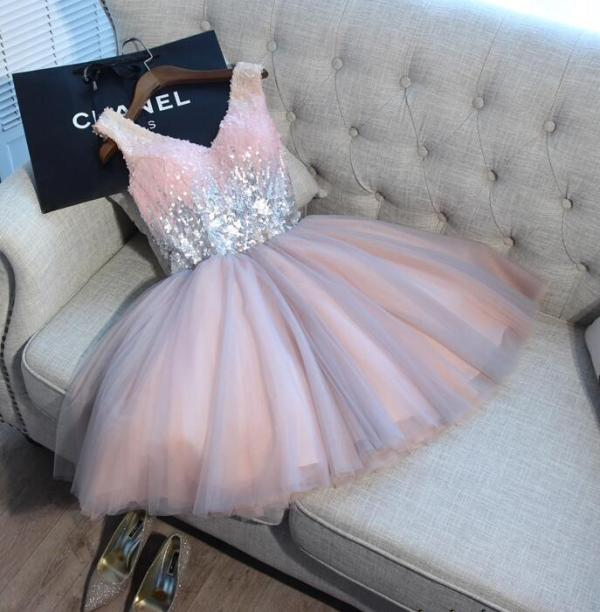 Short Prom Dresses Walk Beside You Ball Gown