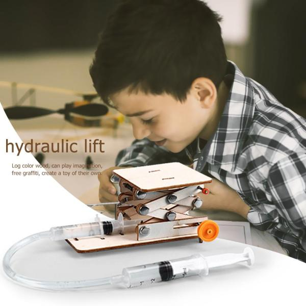 Hydraulic Carry Desk Experiment Kit Science Toy