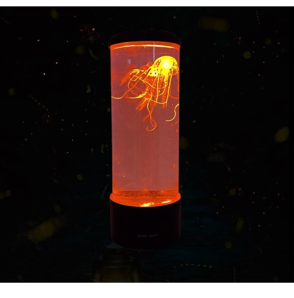 Jellyfish Lamp LED Remote Control Relaxing Mood Night Light