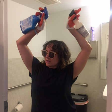 How a Gallery Director cleans toilets