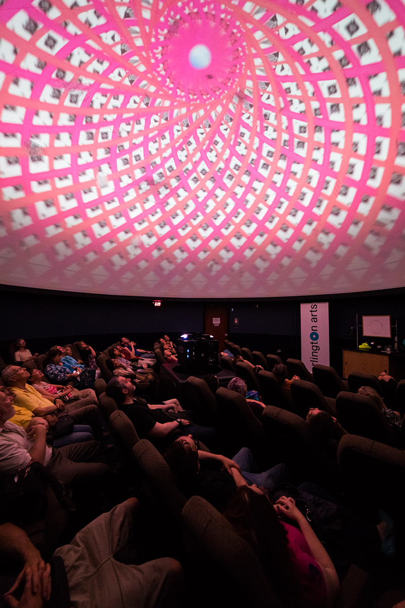 Babel: A Full Dome Projection From Kelley Bell Photographs by Yassine El Mansouri for Arlington Arts.