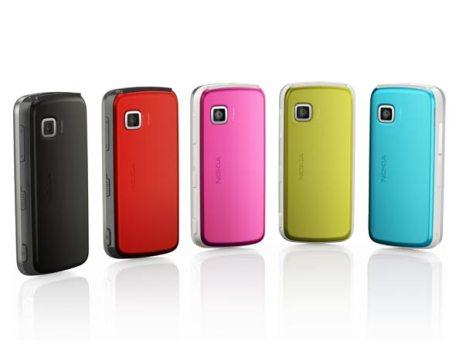 Pilihan warna Nokia 5230