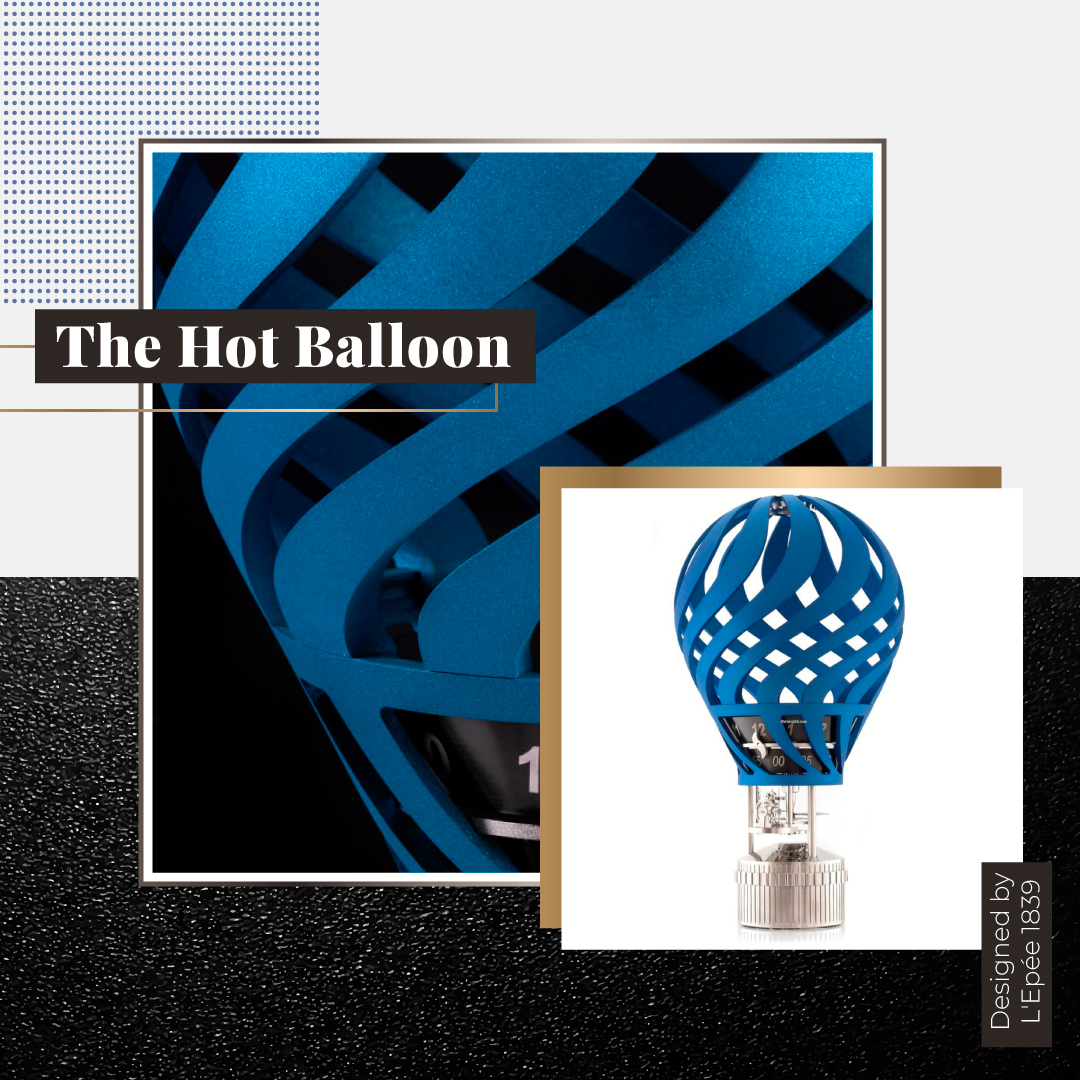 The hot ballon Ines Arenas Jewelry