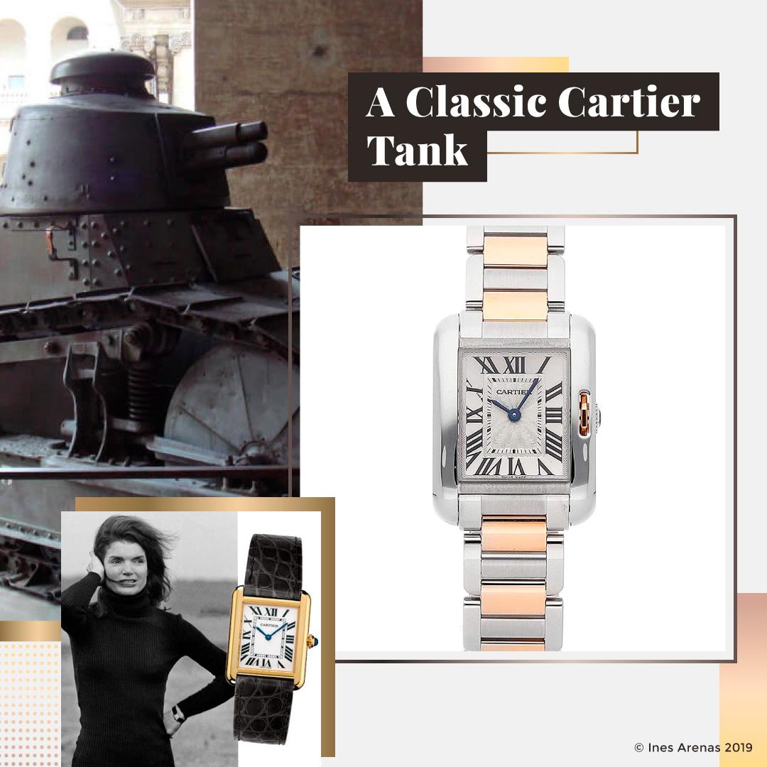 A Classic Cartier Tank