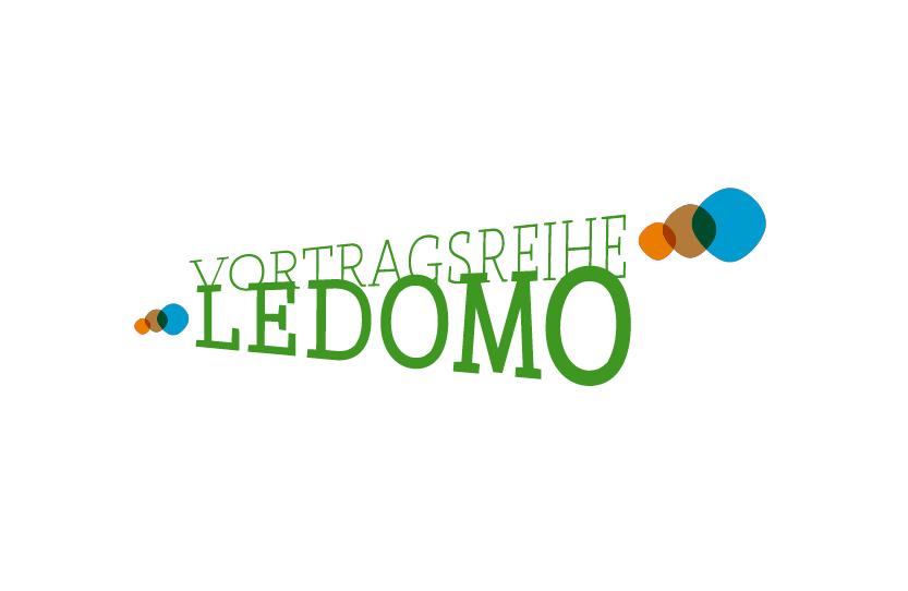Vortragsreihe Ledomo. Logodesign, Printdesign