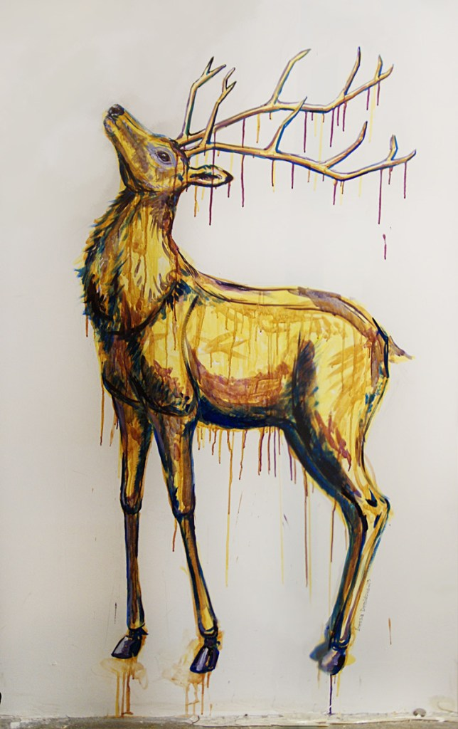 beer_deer_by_Inessa_Demidova