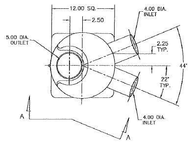 Centek 1601312 Muffler, Sea Ray, (2) 4