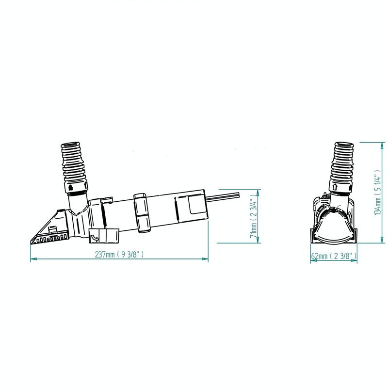 Whale SS1212 SuperSub 1100 Automatic Bilge Pump 12V