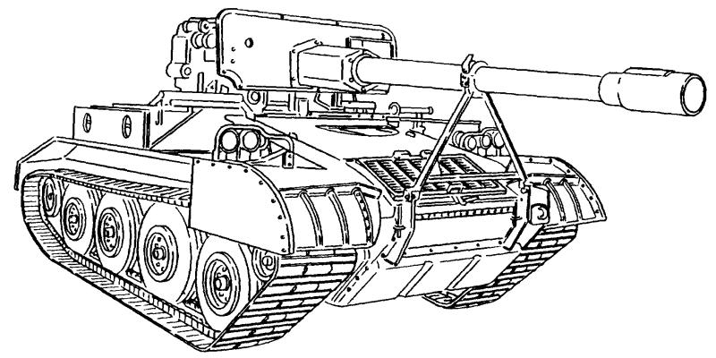 M56 Self-Propelled Anti-Tank Gun