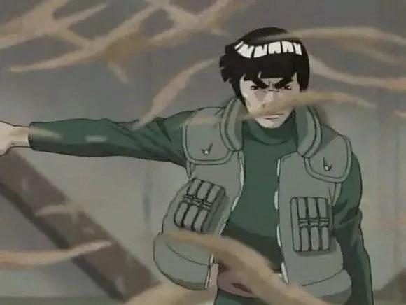 邁特凱作為一名把八門遁甲練到極致的忍者。