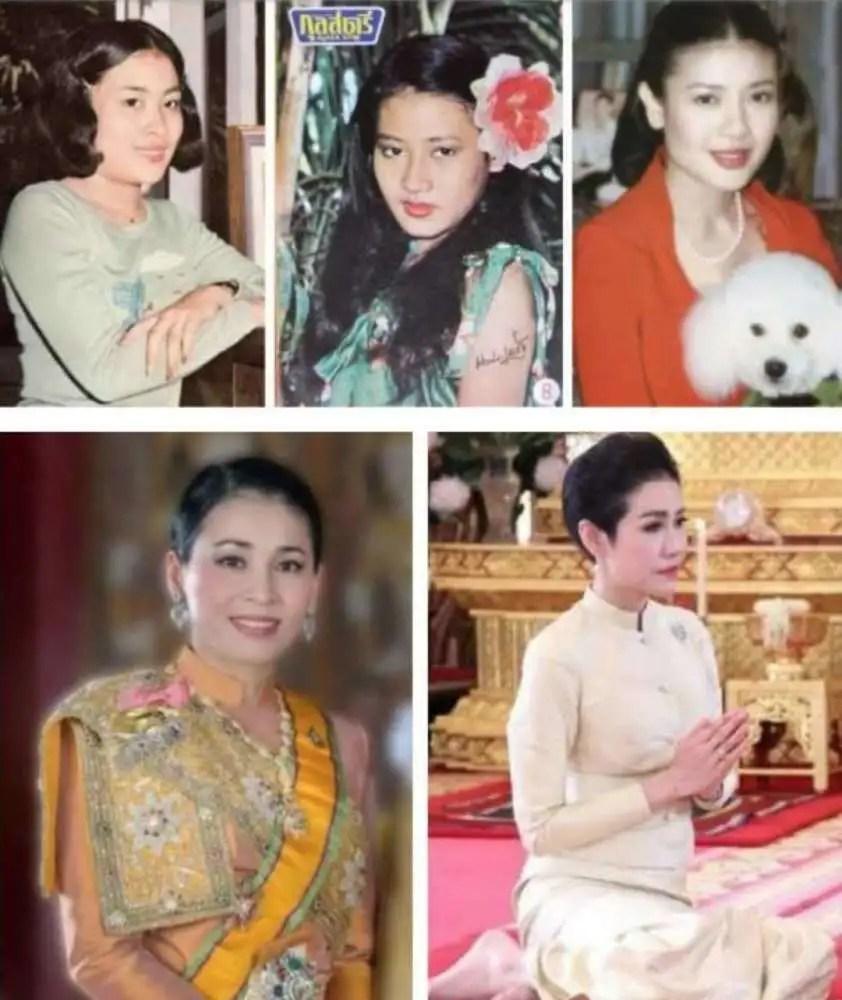 泰國國王廢妃詩妮娜或已死亡,葬禮上詩妮娜母親癲癇發作_騰訊新聞