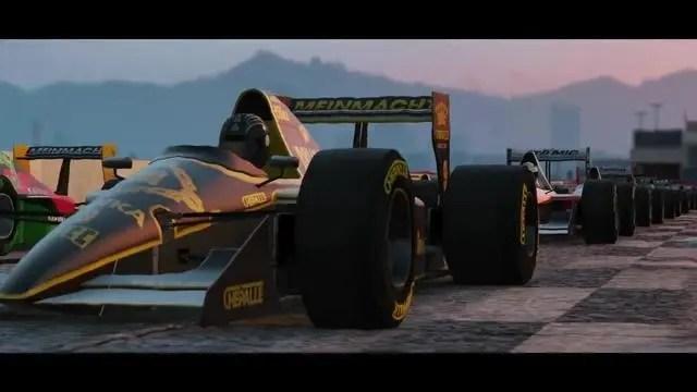 GTA5競速模式更新。引入全新賽車賽道。GTA6遙遙無期?_騰訊新聞