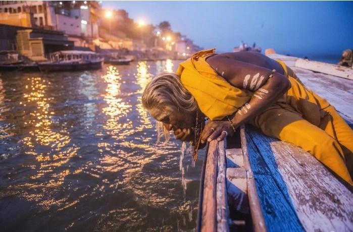 印度封城后恒河水變清澈了?印度專家:現在的恒河水可以直接喝_騰訊新聞