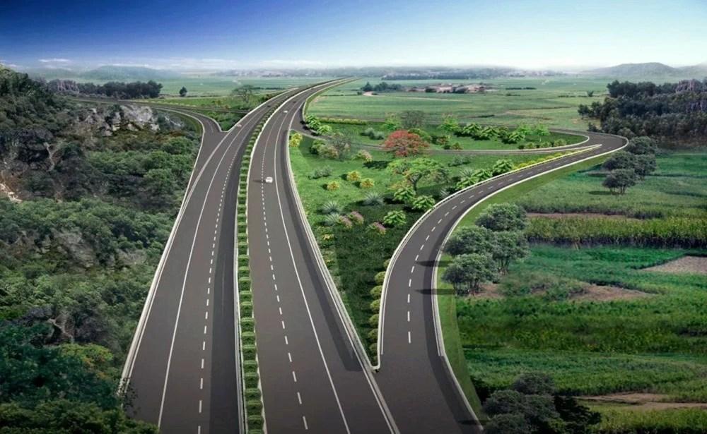 深圳將要擴建的一條高速公路。雙向4車道改8車道。長約146.07千米_騰訊新聞