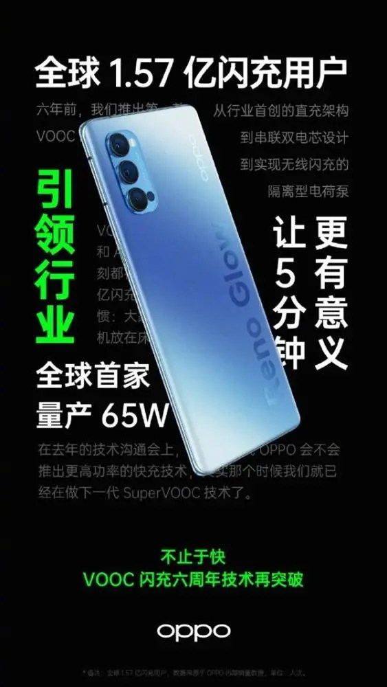 OPPO全球首發65W無線快充:可以把手機充電線丟垃圾桶了!_騰訊新聞