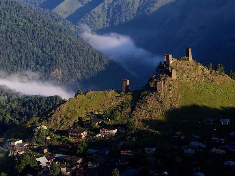 格魯吉亞—一個深藏亞洲的窮游圣地,風景美如畫_騰訊新聞