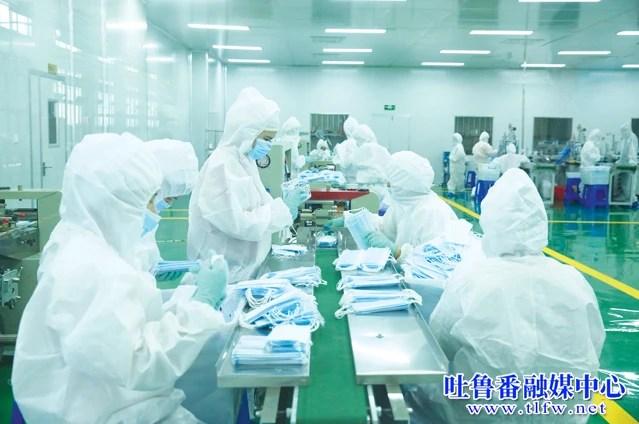 新疆億茂紡織品有限公司滿負荷生產 全力保障防疫物資供應_騰訊新聞