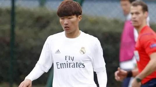 羨慕!日本16歲小將進皇馬一隊訓練!中國何時才有第二個林良銘?_騰訊新聞