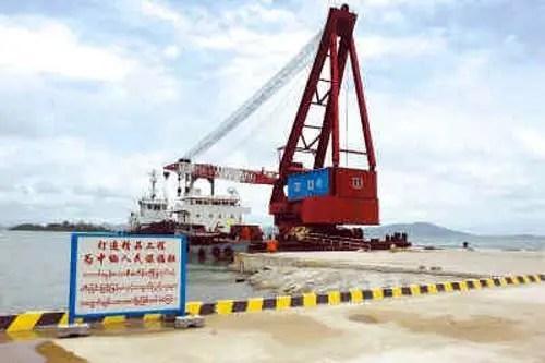 中企拿下緬甸深水港建設大單_騰訊網