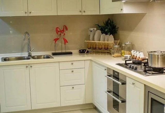 cement kitchen sink narrow depth cabinets 安装厨房水槽万万要降两公分 一旦工人这样做 记得给他工钱 水泥厨房水槽