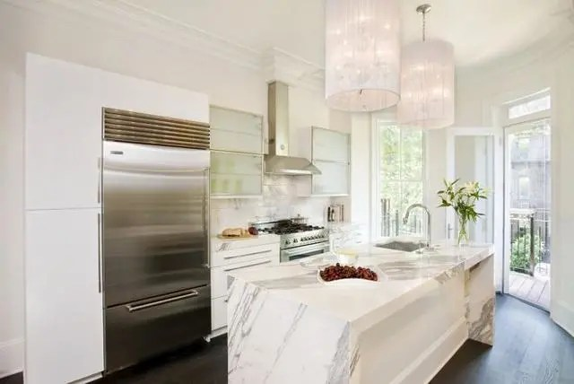 kitchen counter options remodel las vegas 厨房台面用什么材料好 15个厨房台面材料选择指南 腾讯网 大理石厨房柜台