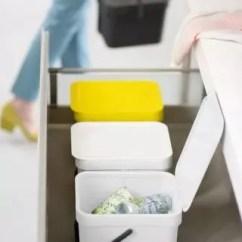 Kitchen Trash Can Pull Out Commercial Supplies 可以壁挂的垃圾桶 又帮你家省出1 腾讯网 即便你家的厨房没有这格柜子的设计 Brabantia的分类垃圾桶也能做到 它附带的悬挂板 可以直接安装在橱柜里 彻底把厨房垃圾桶藏起来