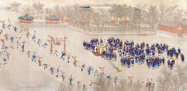 我國冰雪運動歷史悠久 乾隆年間曾全國推廣_體育_騰訊網