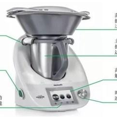 Bimby Kitchen Robot Fluorescent Light Fixtures 有了这台厨房神器 动动手指就能当大厨 腾讯网 先自上而下 来看下基本构造