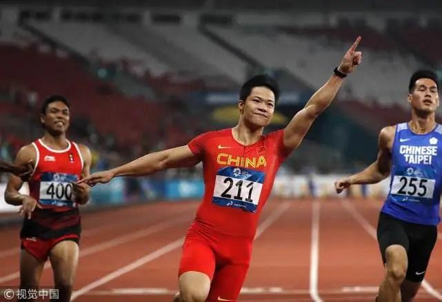 蘇炳添9秒92破亞運紀錄首奪百米金牌 中國男飛人8年后再登頂_體育_騰訊網