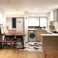 Kitchen Package Designs Pictures 家里装修 越来越流行把厨房包进客厅里 师傅说简洁大方又好看 厨房包