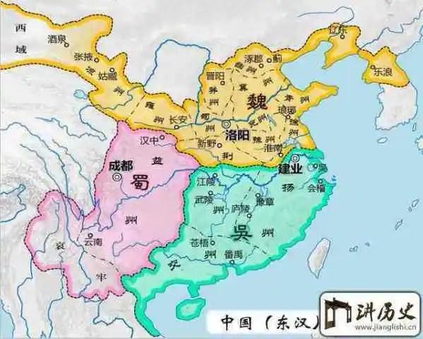 說三國:最詳細的三國行政區域劃分,看看你家在哪個州!