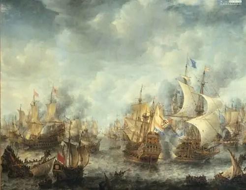 英國拒絕廢除航海條例,導致了英荷戰爭的爆發,兩敗俱傷