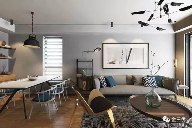distressed kitchen chairs benches for tables 靠谱的软装 6个聪明的小户型设计 终于知道怎么改造房子 图片