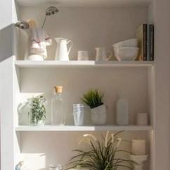 Kitchen Cabinets Ri Best Inexpensive Faucet 老公把家里厨房设计这么时尚 我做饭都勤快了 腾讯网 大家在传统的厨房里总是习惯将东西藏在厨柜里 而现在的厨房收纳更倾向于将东西展示出来 在一些小户型家庭中 开放式的收纳架正在取代开门厨柜