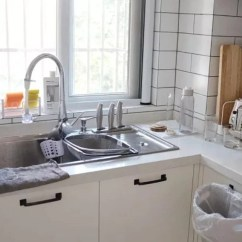 Country Kitchen Sink Corner 厨房装修到底装双槽还是单槽 没经验弄错用几次就闹心 真想重装 乡村厨房水槽