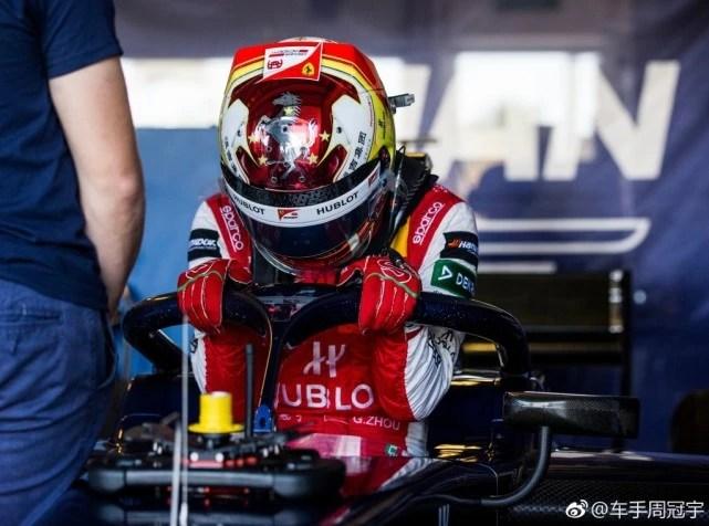 周冠宇F2試車進步神速 下賽季或再創中國賽車歷史_體育_騰訊網