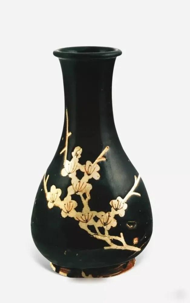 宋代吉州窯、建窯的黑釉
