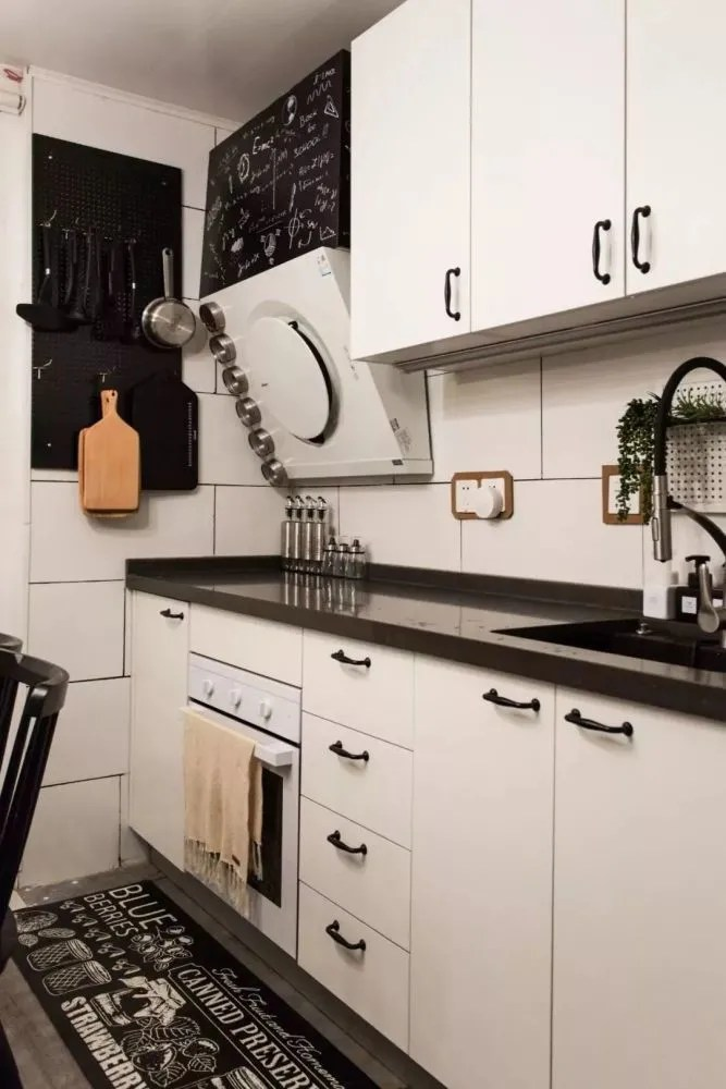 kitchen az cabinets c 小户型厨房的橱柜该如何布局 一字型 l型和u字型都有 厨房的橱柜