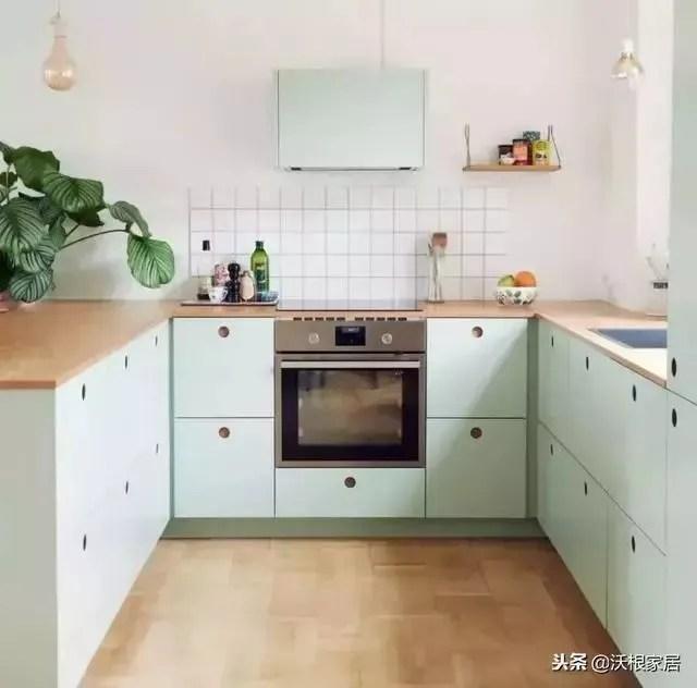 30 kitchen sink cement 不挑户型的30个厨房设计 把4 装成10 真服气 u型厨房 面积较大 活动空间更灵活 水槽一般在中间 切菜炒菜以及常用工具分别在两边 这种厨房也适合做成开放式 利用一侧做吧台 增加生活情调